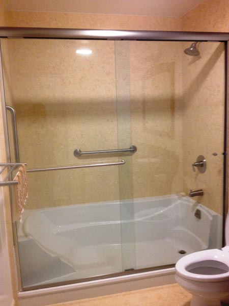 E\Z Step | Tub to Shower Conversion | Senior SAFETYPro