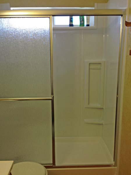 Walk In Shower | 34x60x72 Acrylic Shower Pan & 3 Wall Surround ...