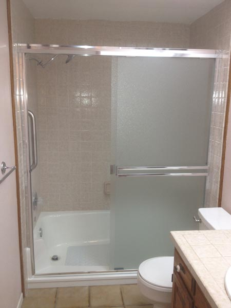 Full Cut E\Z Step Tub To Shower Conversion